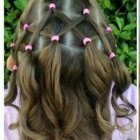 Little girl easy hairstyles