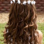 Little girl hairstyles for wedding