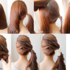 Make simple hairstyles