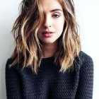 Moderate length hairstyles