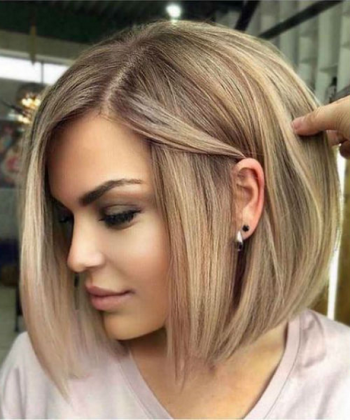 Latest short hairstyle for women 2020