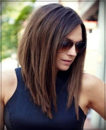 Medium thin hairstyles 2020
