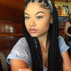 2016 black braided hairstyles