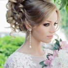 Hairstyle for bride 2016