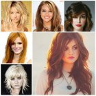 Long hairstyles with layers 2016