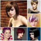 Short hairstyles and colours 2016