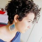 Short naturally curly hairstyles 2016