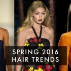 Spring 2016 hairstyles