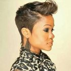 Black hairstyle short cuts