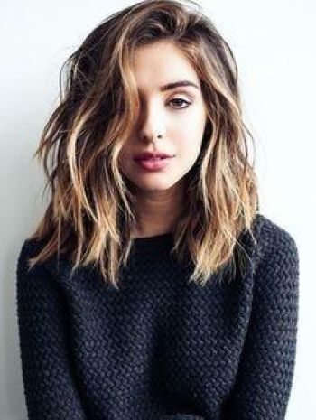 Collarbone length hairstyles
