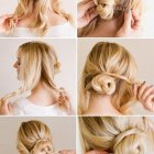 Cute hairdos for long thick hair