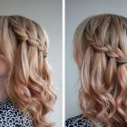 Cute hairdos for medium length hair