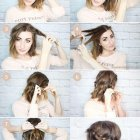 Cute hairdos shoulder length hair