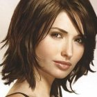 Cute layered shoulder length haircuts