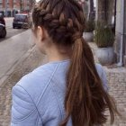 Cute updos for thick hair