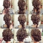 Easy long hair updos
