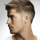 Fashion men haircut