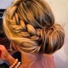 Hair updos for thick hair