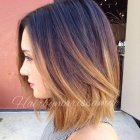 Medium length hairstyles colors