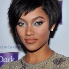 Really short black hairstyles
