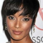 Short black female haircuts