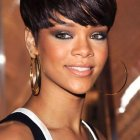 Short haircuts for black hair woman