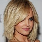 Shoulder length celebrity haircuts