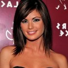 Shoulder length hair with bangs styles