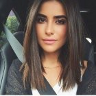 Shoulder length haircuts women