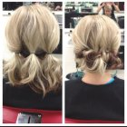 Simple everyday updos for long hair