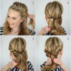 Summer updos for long hair