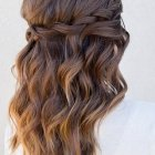 Updos for long curly hair