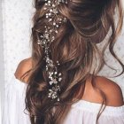 Ball hairdos for long hair