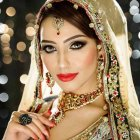Bridal hairstyle for marriage