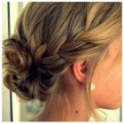 Bridesmaid hairdos for medium hair