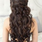 Brown hair prom hairstyles