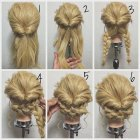 Cool easy updos