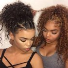 Curly hairstyles for naturally curly hair