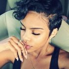 Cute short haircuts for black females 2018