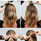 Easy party updos