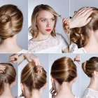 Easy stylish updos