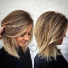 Easy to style shoulder length haircuts
