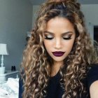 Fun hairstyles for curly hair