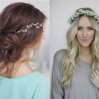 Hair for bridesmaids 2018