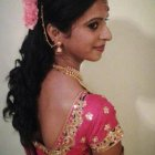 Hair style in marriage party