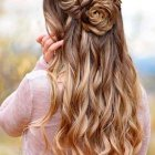 Hair style of long hair