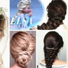 Hairstyle for marriage girl