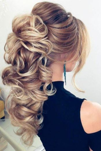 Hairstyles for long hair prom 2018