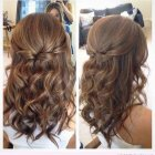Hairstyles for prom medium length