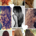 Hairstyles for slightly curly hair